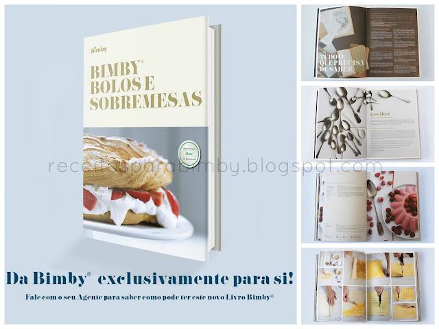 Livro Bimby Bolos e Sobremesas