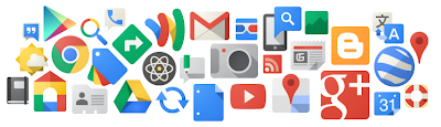 Google products logos