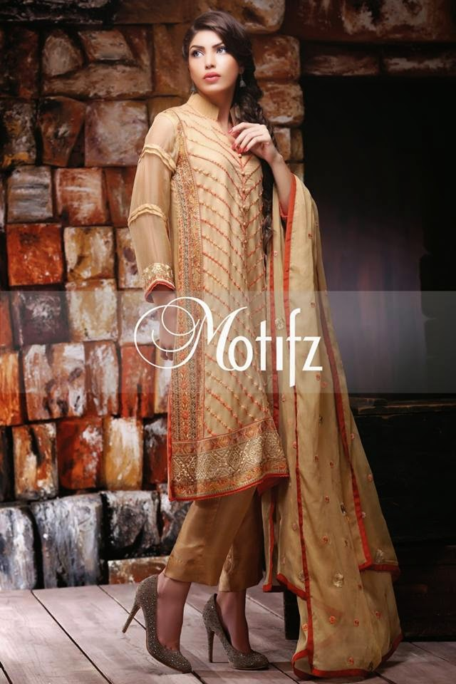 Motifz Summer Chiffon Dress 2015