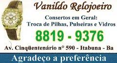 VANILDO RELOJOEIRO
