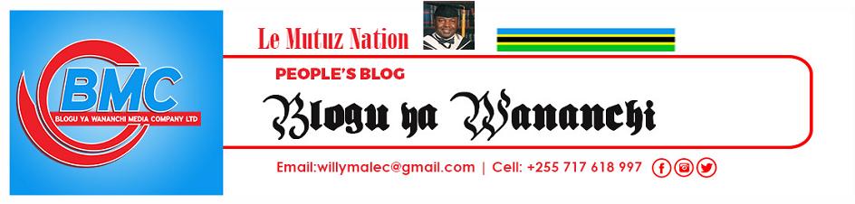 Blogu ya Wananchi