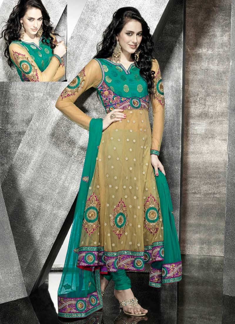 Pakistani fancy frocks party dresses fashion designs.