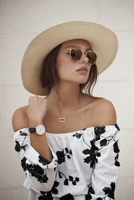 Blusa muy sencilla y elegante para la primavera