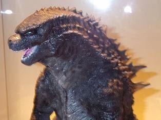 Godzilla 2014 concept sculpture