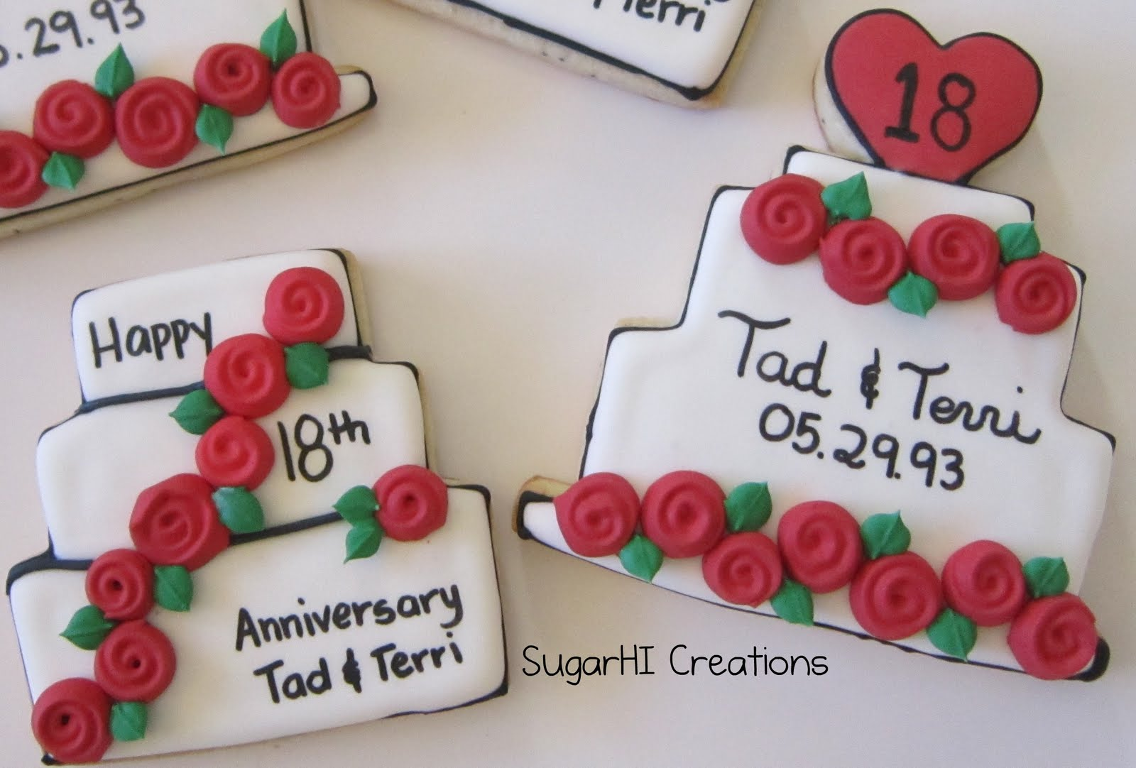 SugarHI Creations: Happy Anniversaries