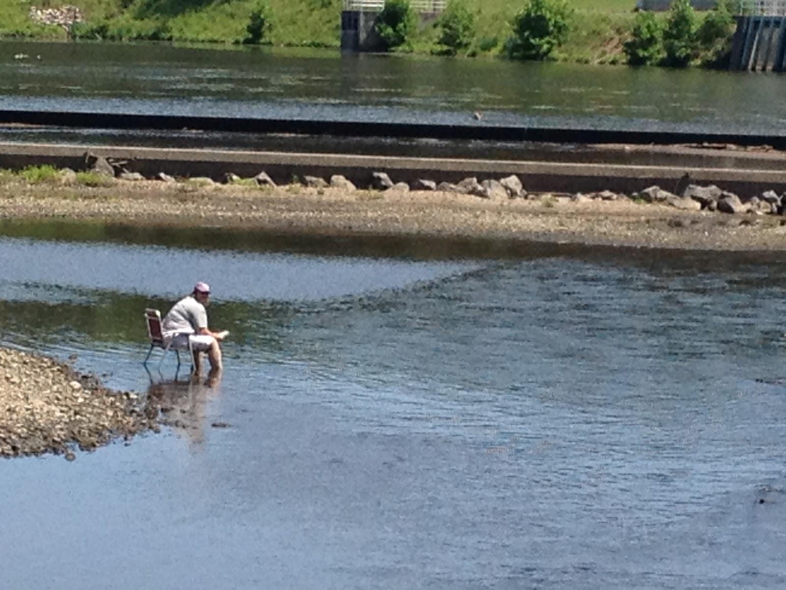 Hill slug chronicles june 2012 for Raritan river fishing
