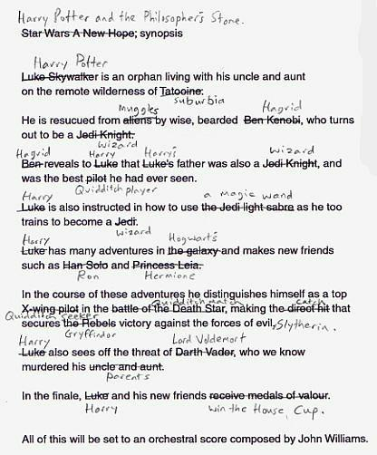Harry Potter - Star Wars - Completely Fixed The Story