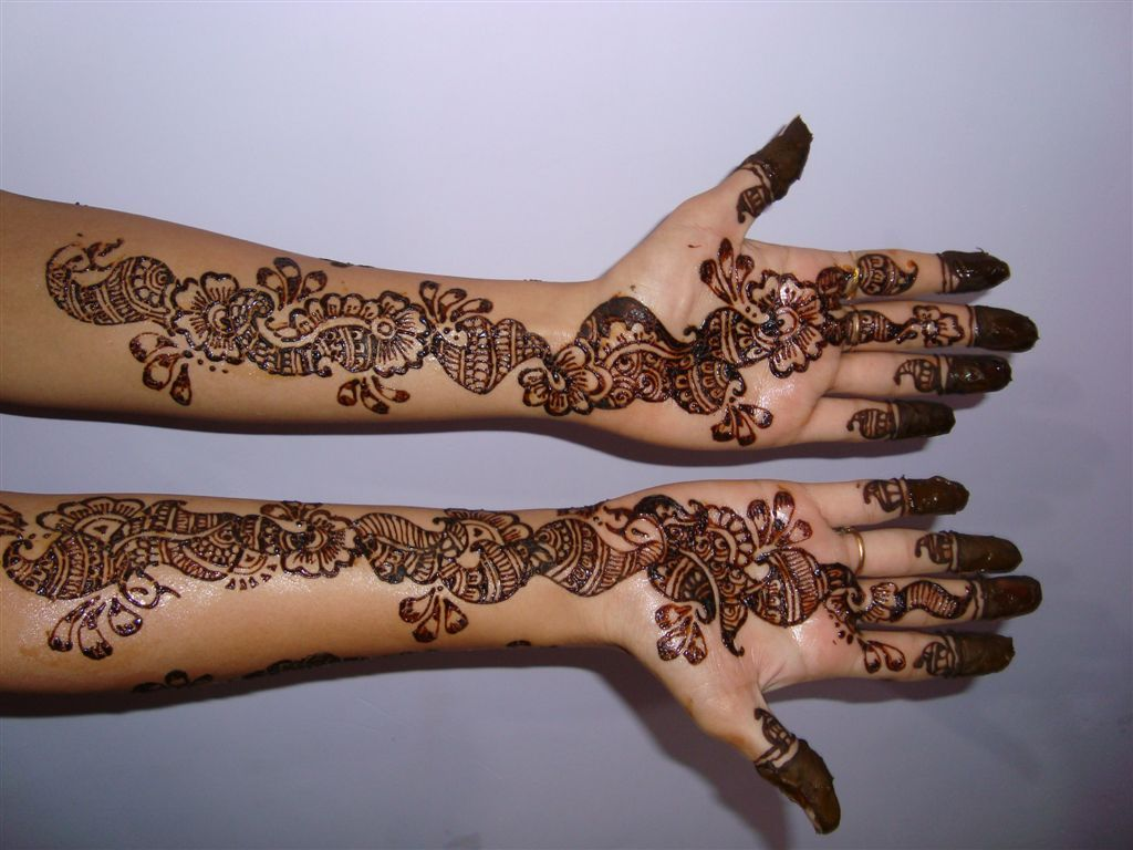 Images Of Henna Mehndi : Mehndi design bridal designs arabic