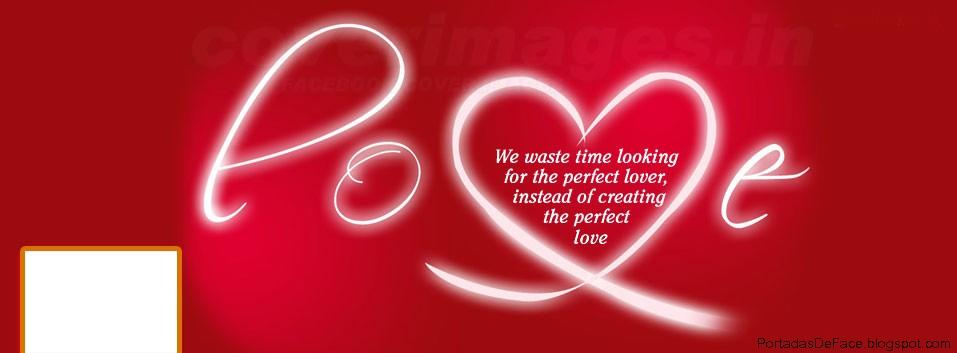 Foto Portada para Facebook de Amor Love | Portadas para Facebook