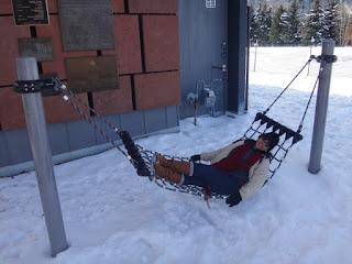 curtindo a neve em aspen