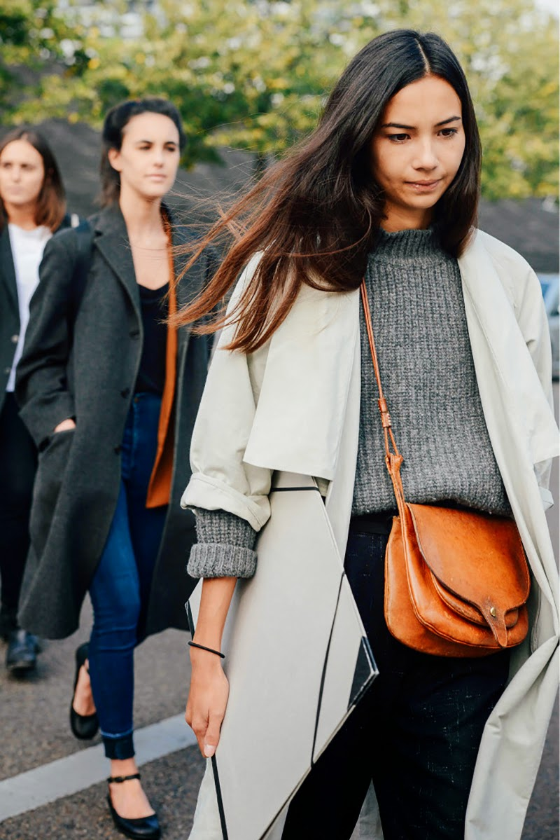 Streetstyle at Paris FWSS 2015