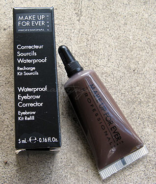 make up for ever eyebrow corrector 3