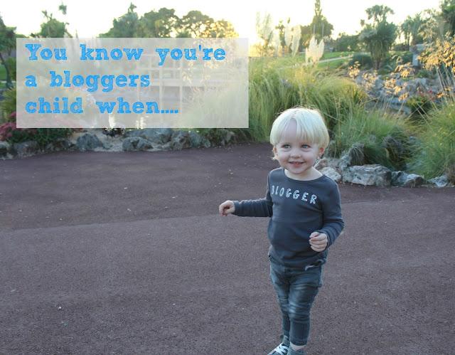 Bloggers child