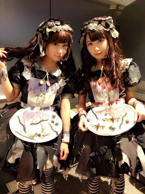 AKB48 Shibata Aya & Takayanagi Akane Halloween Night 02