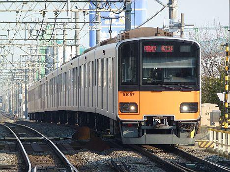 東武伊勢崎線 区間急行 北千住行き1 50050系