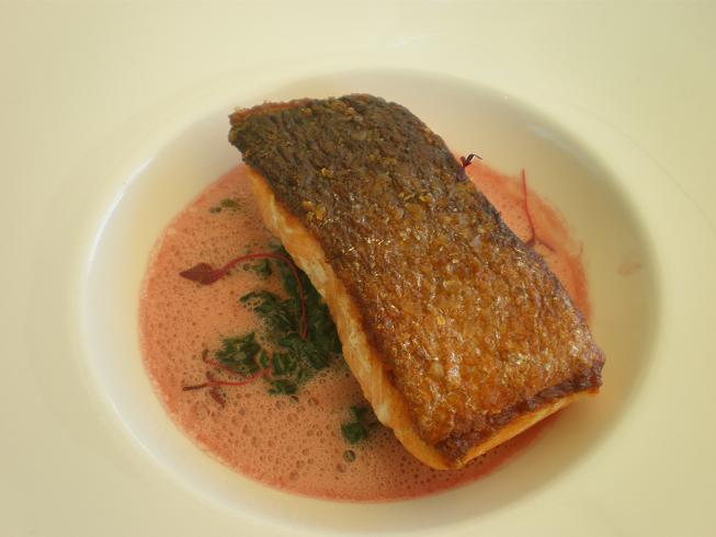 Salmon Steaks With Red-Wine Butter Recipes — Dishmaps