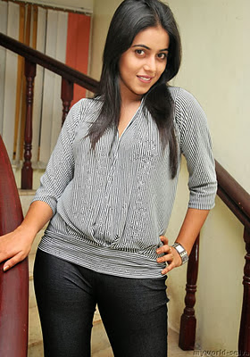 Actress Poorna in Jeans