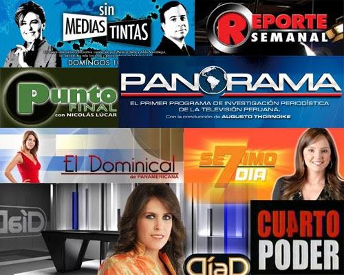 El ya lo vi crisis en la televisi n peruana for Programas de cocina de tve
