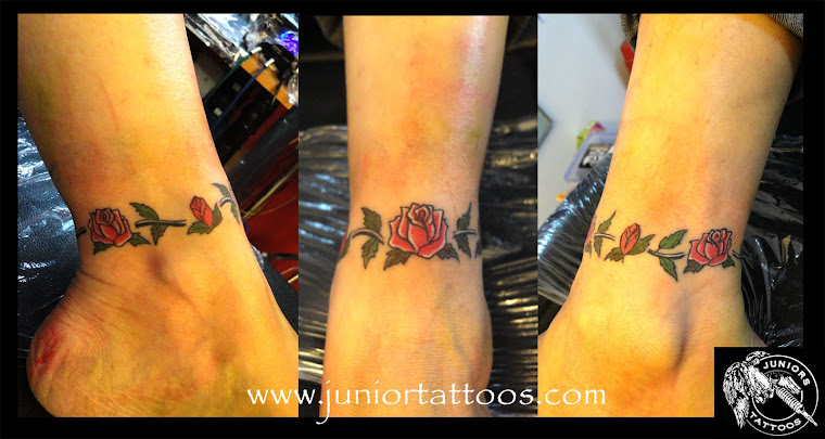 Anklet Band RoseTattoo