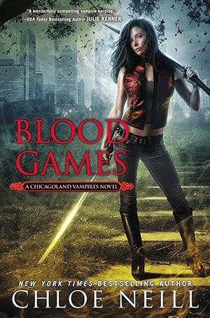 http://www.amazon.com/Blood-Games-Chicagoland-Vampires-Chloe/dp/0451415205/ref=sr_1_1?s=books&ie=UTF8&qid=1408739507&sr=1-1&keywords=chloe+neill