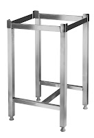 Stativ butuc macelar - fabricat din otel inoxidabil, cadru consolidat. Dimensiuni : 500x400x(H)750