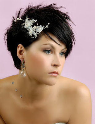 short wedding hairstyles spikes