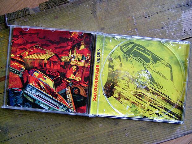 Ontwerp cd doosje rockband