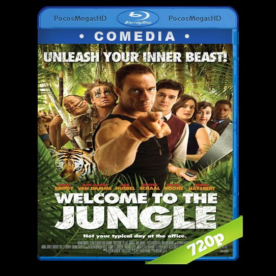 Bienvenido a la jungla(2013) BrRip 720p Inglés AC3+subs