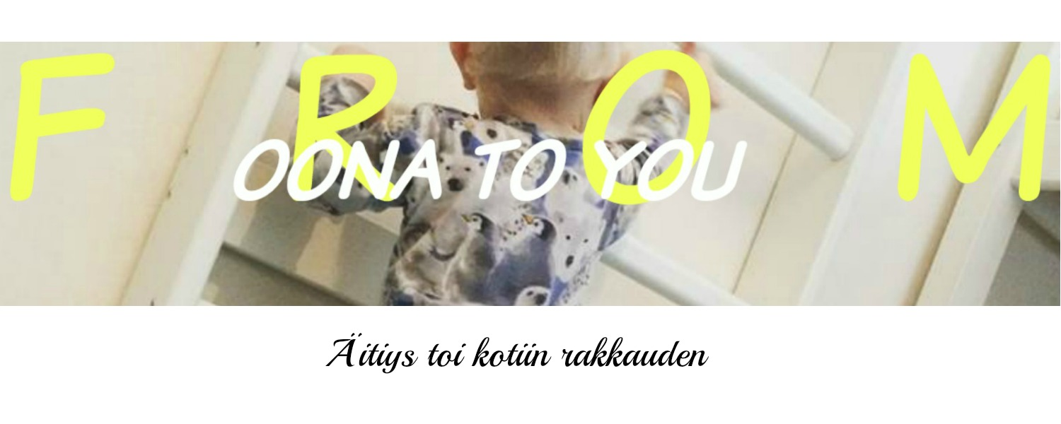 FROM OONA TO YOU