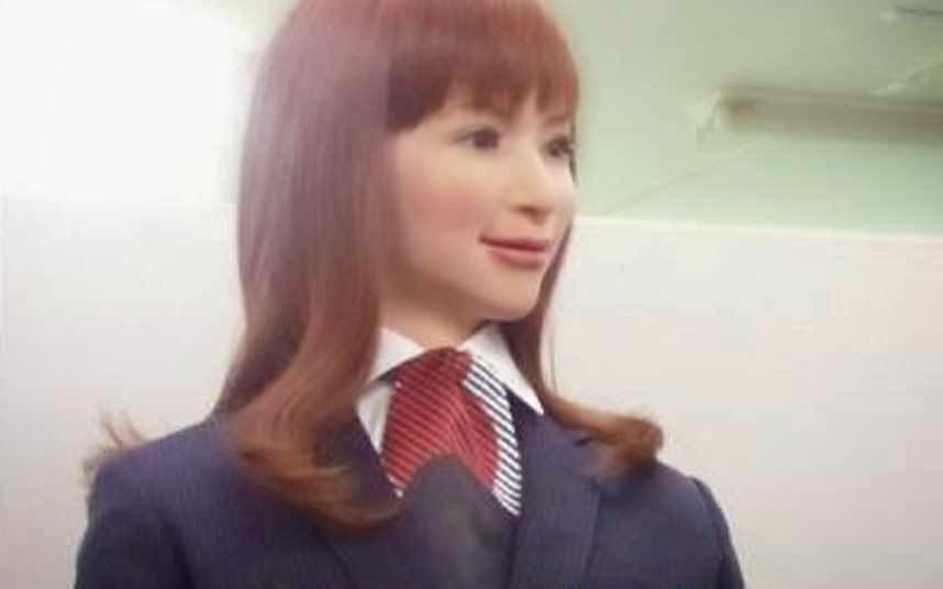 Actroid Kokoro Robot