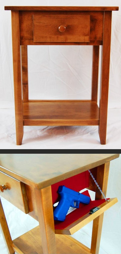 The Miller Hidden Compartment Furniture