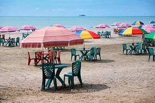Gondoriah, Pantai Indah Tempat Start dan Finish TDS