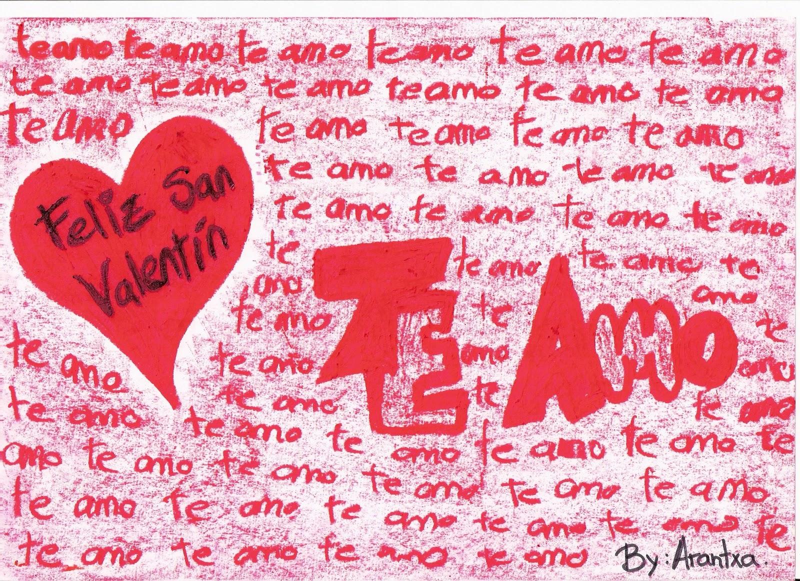 Elegant Feliz San Valentin Mi Amor