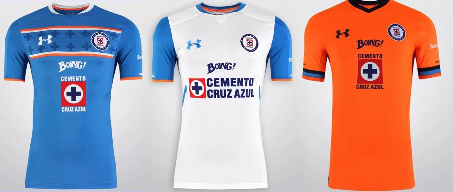 Armadura Azul 2015-2016