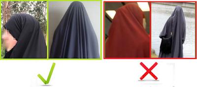 La mujer que recoge su cabello por debajo del hiyab (jilbab)   IMG_5050