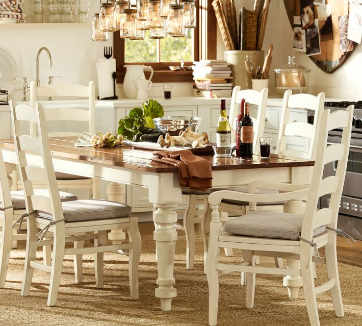 Redirecting for Farmhouse dining room table set