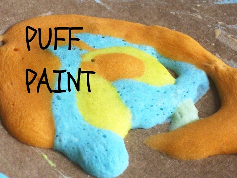 La peinture qui gonfle au micro-ondes