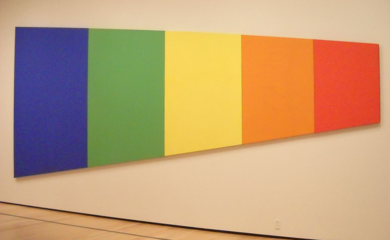 Awesome Ellsworth Kelly Colors For A Large Wall Image - The Wall Art ...