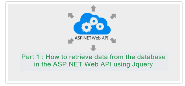 How to retrieve data from the database in the ASP.NET Web API using Jquery