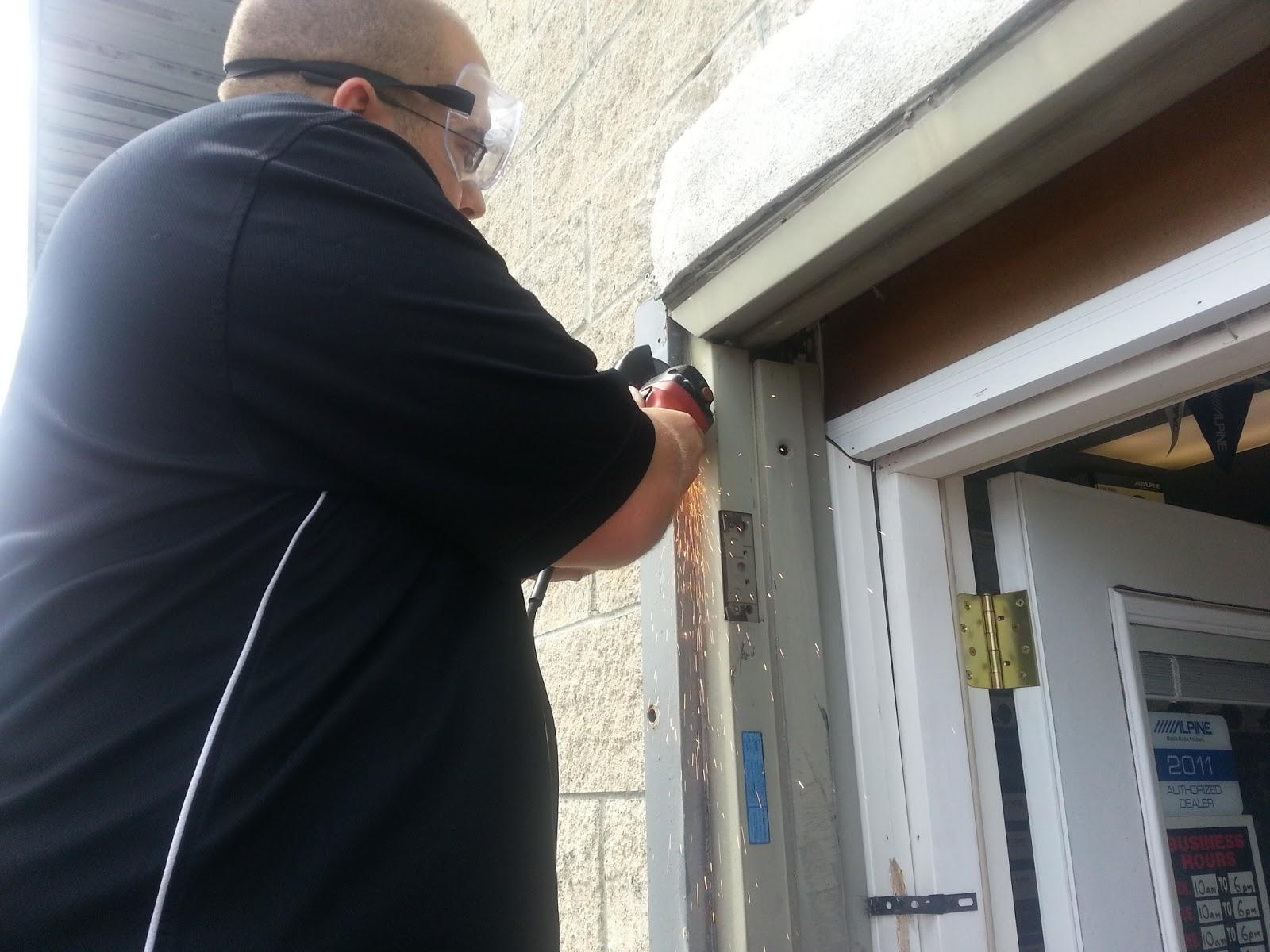Door Frame Installation : Hawaii doors locks emergency door installation of a