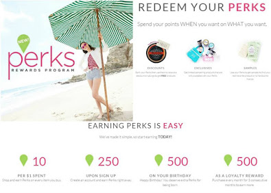 Join our Perks Program and Earn FREE Products