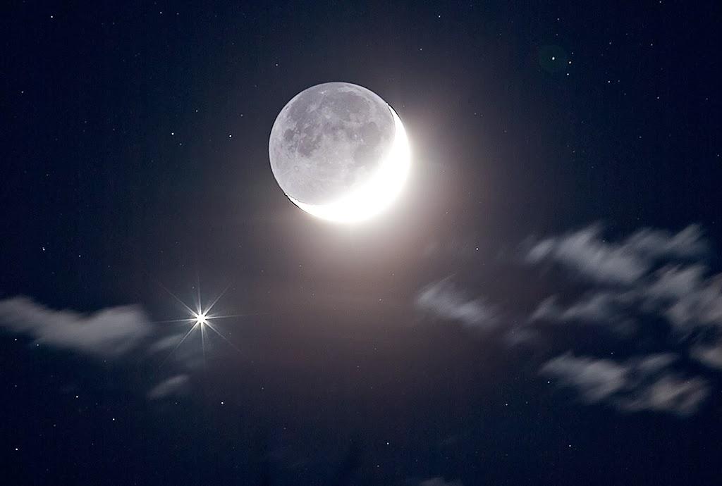 Luna e Venere