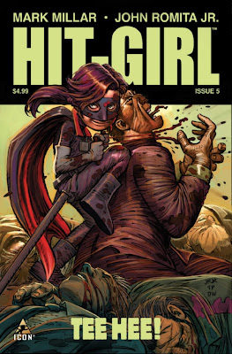 Hit-Girl # 5 - Mark Millar Romita Jr.