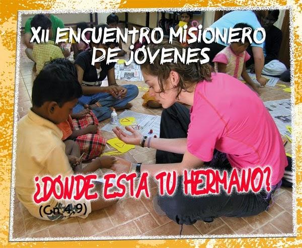XII Encuentro Misionero de jóvenes
