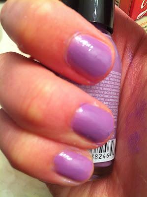 Sally Hansen Purple Nail polish swatches