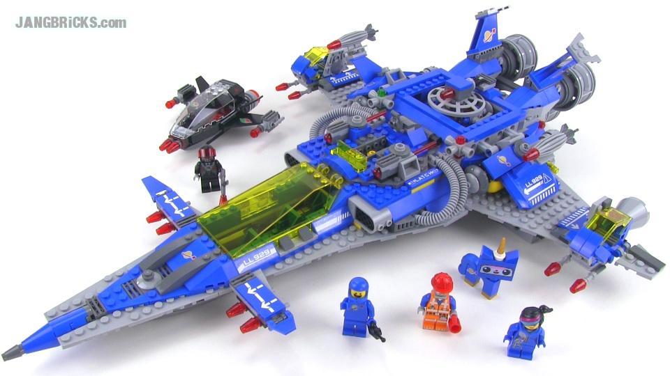 Lego 70816 Bennys Spaceship Spaceship Spaceship Video Review