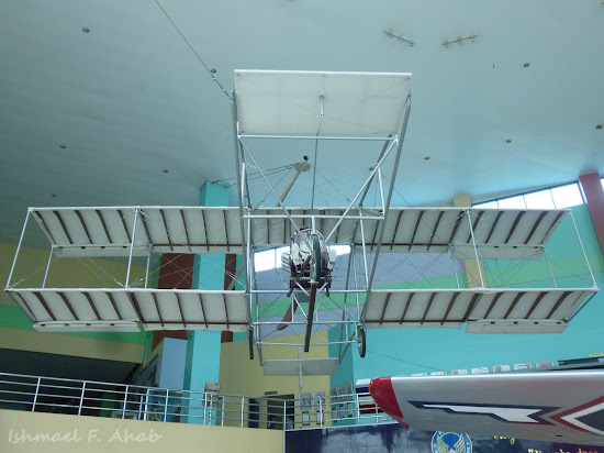Replica of Wright Brother's first successfully flying airplane in PAF Aerospace Museum