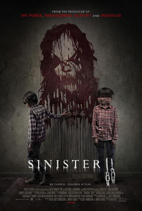 Primeiro poster oficial de A Entidade 2 (Sinister 2) é divulgado