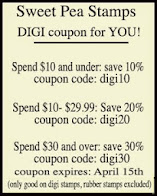 Digi Stamp Coupon at Sweet Pea