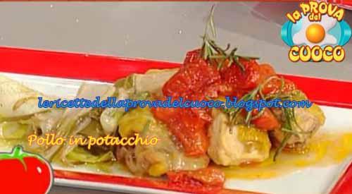 """Pollo in potacchio: ricetta da """"La Prova del Cuoco"""""""